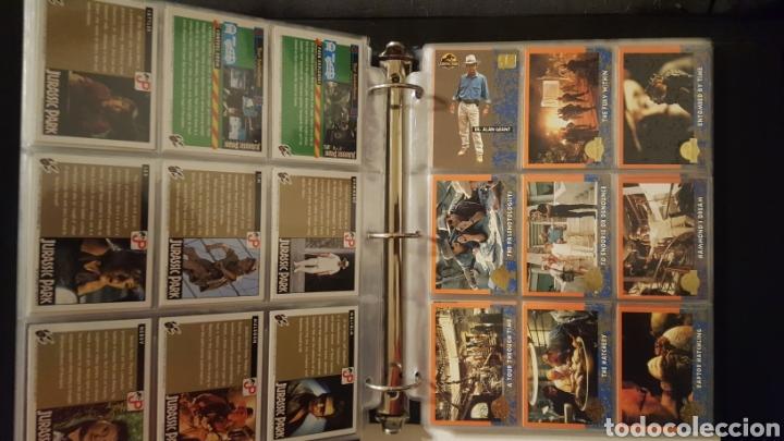 Trading Cards: Trading cards - Jurassic Park - Con especiales, promos hologramas y carpeta binder - Topps - 1993 - Foto 3 - 186153426