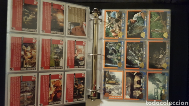 Trading Cards: Trading cards - Jurassic Park - Con especiales, promos hologramas y carpeta binder - Topps - 1993 - Foto 4 - 186153426