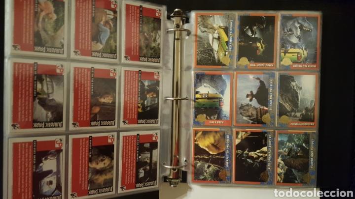 Trading Cards: Trading cards - Jurassic Park - Con especiales, promos hologramas y carpeta binder - Topps - 1993 - Foto 5 - 186153426