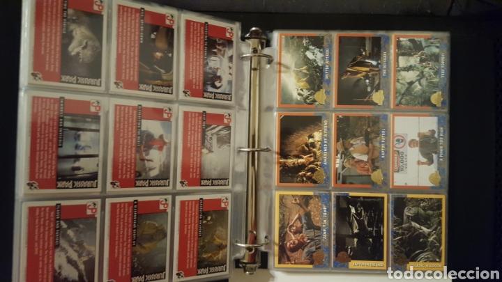 Trading Cards: Trading cards - Jurassic Park - Con especiales, promos hologramas y carpeta binder - Topps - 1993 - Foto 6 - 186153426