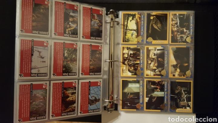 Trading Cards: Trading cards - Jurassic Park - Con especiales, promos hologramas y carpeta binder - Topps - 1993 - Foto 7 - 186153426