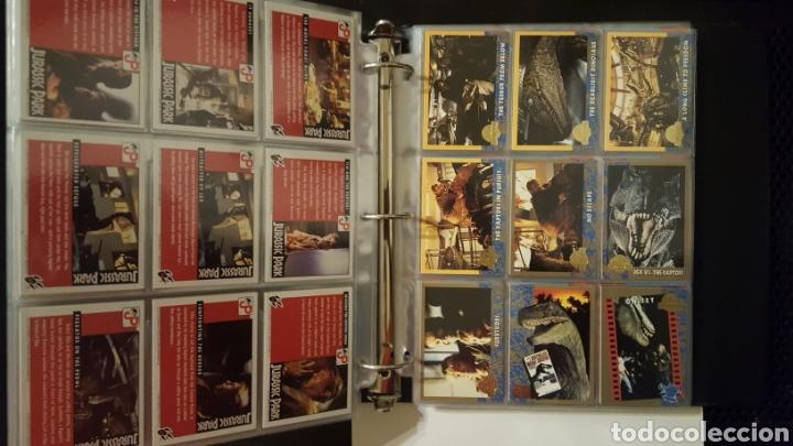 Trading Cards: Trading cards - Jurassic Park - Con especiales, promos hologramas y carpeta binder - Topps - 1993 - Foto 8 - 186153426