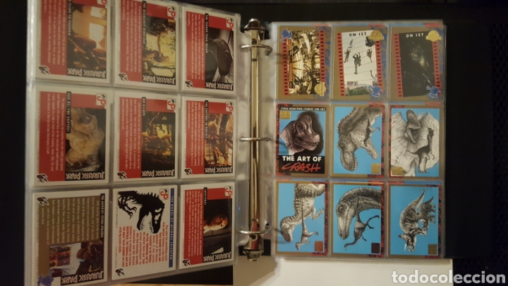 Trading Cards: Trading cards - Jurassic Park - Con especiales, promos hologramas y carpeta binder - Topps - 1993 - Foto 9 - 186153426
