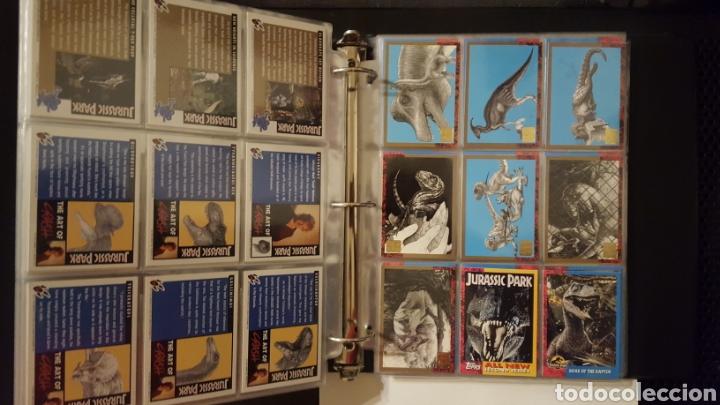 Trading Cards: Trading cards - Jurassic Park - Con especiales, promos hologramas y carpeta binder - Topps - 1993 - Foto 10 - 186153426