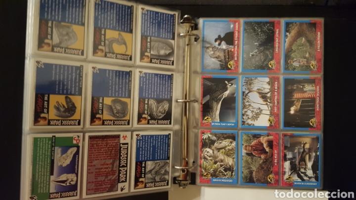 Trading Cards: Trading cards - Jurassic Park - Con especiales, promos hologramas y carpeta binder - Topps - 1993 - Foto 11 - 186153426