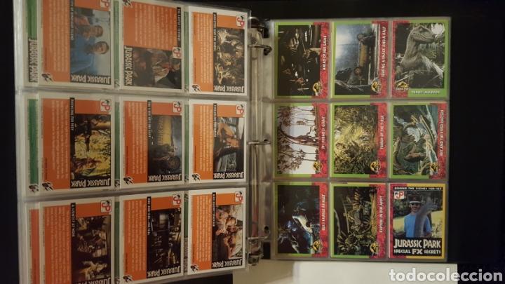 Trading Cards: Trading cards - Jurassic Park - Con especiales, promos hologramas y carpeta binder - Topps - 1993 - Foto 14 - 186153426