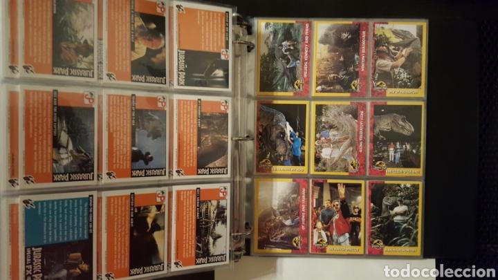 Trading Cards: Trading cards - Jurassic Park - Con especiales, promos hologramas y carpeta binder - Topps - 1993 - Foto 15 - 186153426