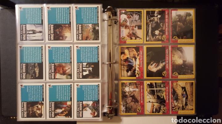 Trading Cards: Trading cards - Jurassic Park - Con especiales, promos hologramas y carpeta binder - Topps - 1993 - Foto 16 - 186153426