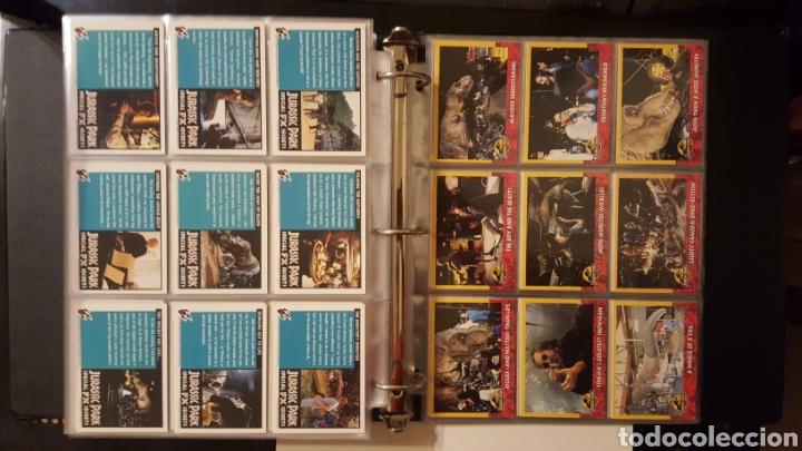 Trading Cards: Trading cards - Jurassic Park - Con especiales, promos hologramas y carpeta binder - Topps - 1993 - Foto 17 - 186153426