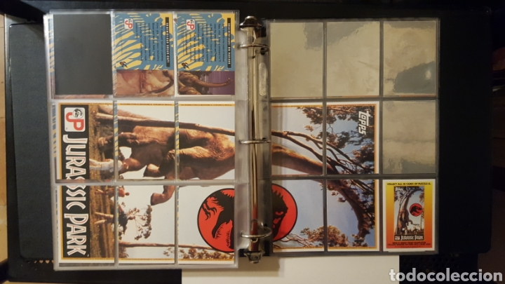 Trading Cards: Trading cards - Jurassic Park - Con especiales, promos hologramas y carpeta binder - Topps - 1993 - Foto 20 - 186153426