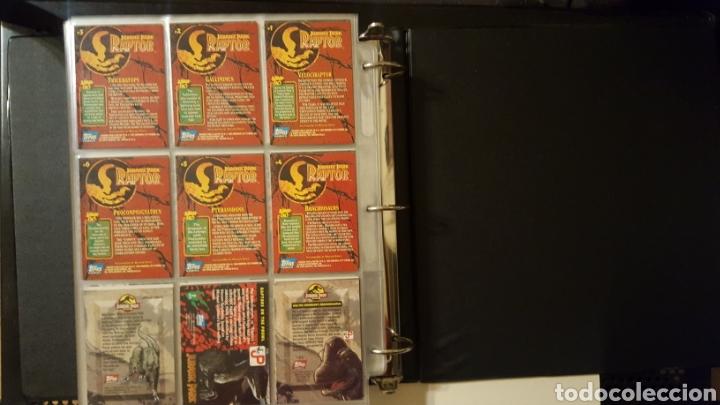 Trading Cards: Trading cards - Jurassic Park - Con especiales, promos hologramas y carpeta binder - Topps - 1993 - Foto 23 - 186153426