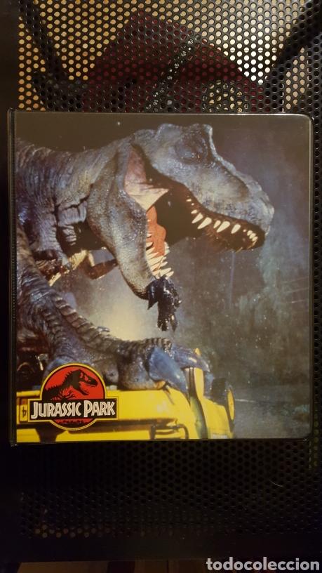 Trading Cards: Trading cards - Jurassic Park - Con especiales, promos hologramas y carpeta binder - Topps - 1993 - Foto 24 - 186153426