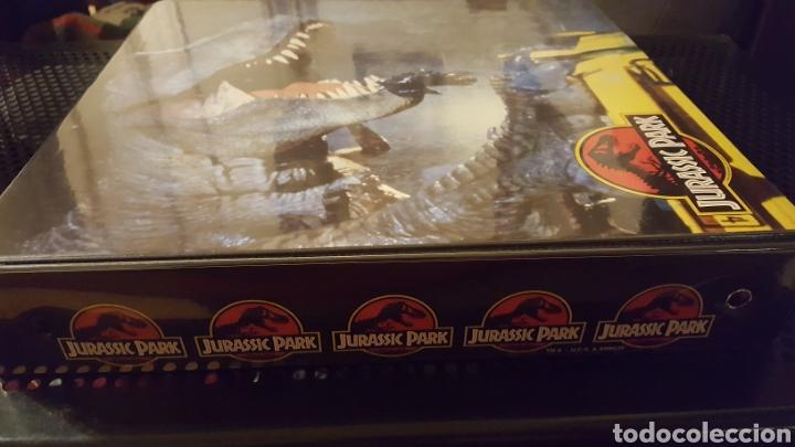Trading Cards: Trading cards - Jurassic Park - Con especiales, promos hologramas y carpeta binder - Topps - 1993 - Foto 25 - 186153426