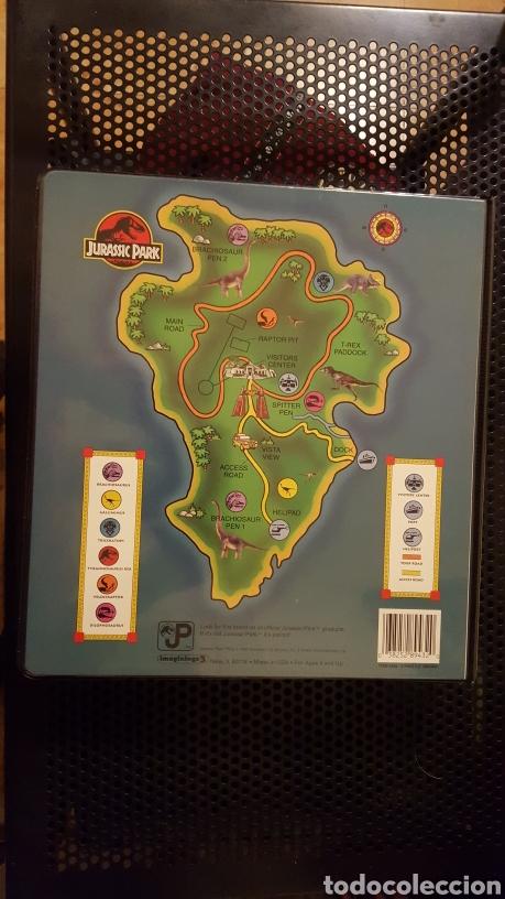 Trading Cards: Trading cards - Jurassic Park - Con especiales, promos hologramas y carpeta binder - Topps - 1993 - Foto 26 - 186153426