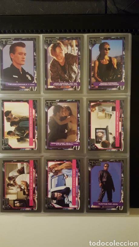 Trading Cards: Trading cards - Terminator 2 Judgement day - T2 - Col. Completa - Impel - 1991 - Foto 2 - 186154742