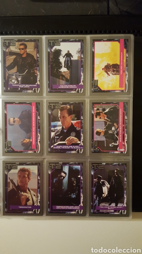 Trading Cards: Trading cards - Terminator 2 Judgement day - T2 - Col. Completa - Impel - 1991 - Foto 4 - 186154742