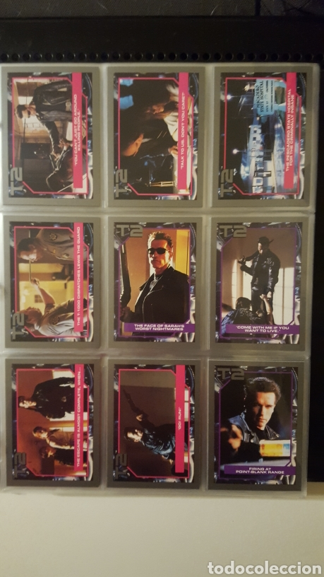 Trading Cards: Trading cards - Terminator 2 Judgement day - T2 - Col. Completa - Impel - 1991 - Foto 5 - 186154742