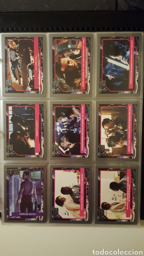 Trading Cards: Trading cards - Terminator 2 Judgement day - T2 - Col. Completa - Impel - 1991 - Foto 6 - 186154742