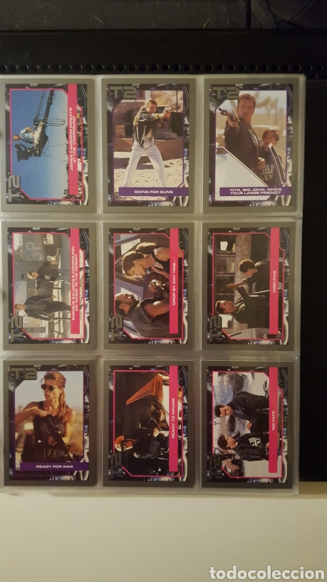 Trading Cards: Trading cards - Terminator 2 Judgement day - T2 - Col. Completa - Impel - 1991 - Foto 7 - 186154742