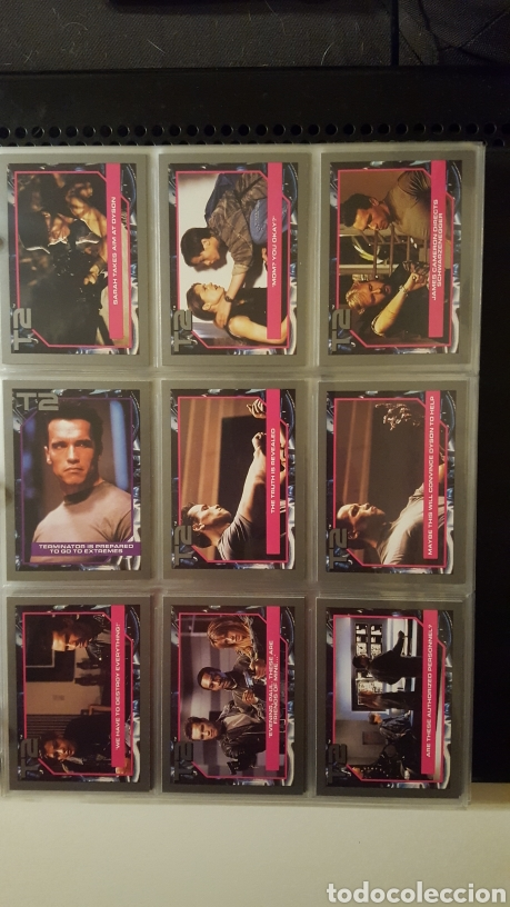 Trading Cards: Trading cards - Terminator 2 Judgement day - T2 - Col. Completa - Impel - 1991 - Foto 8 - 186154742