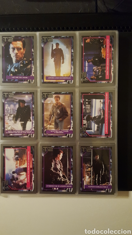 Trading Cards: Trading cards - Terminator 2 Judgement day - T2 - Col. Completa - Impel - 1991 - Foto 9 - 186154742