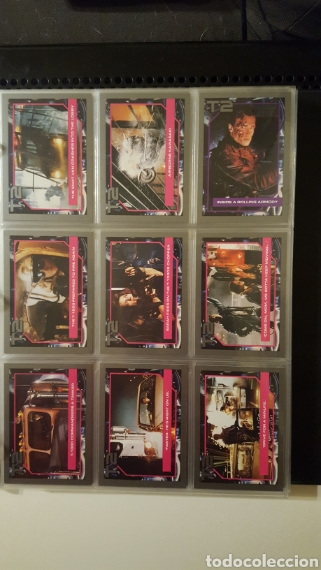 Trading Cards: Trading cards - Terminator 2 Judgement day - T2 - Col. Completa - Impel - 1991 - Foto 11 - 186154742