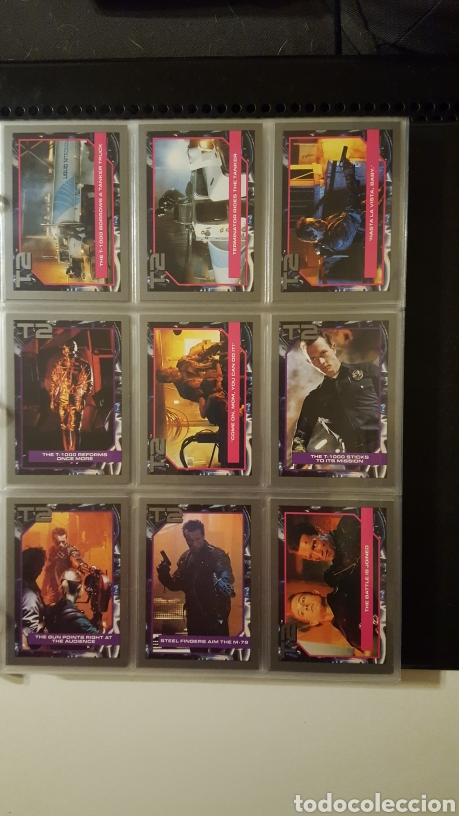 Trading Cards: Trading cards - Terminator 2 Judgement day - T2 - Col. Completa - Impel - 1991 - Foto 12 - 186154742