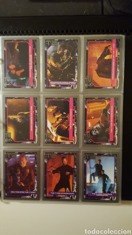 Trading Cards: Trading cards - Terminator 2 Judgement day - T2 - Col. Completa - Impel - 1991 - Foto 13 - 186154742
