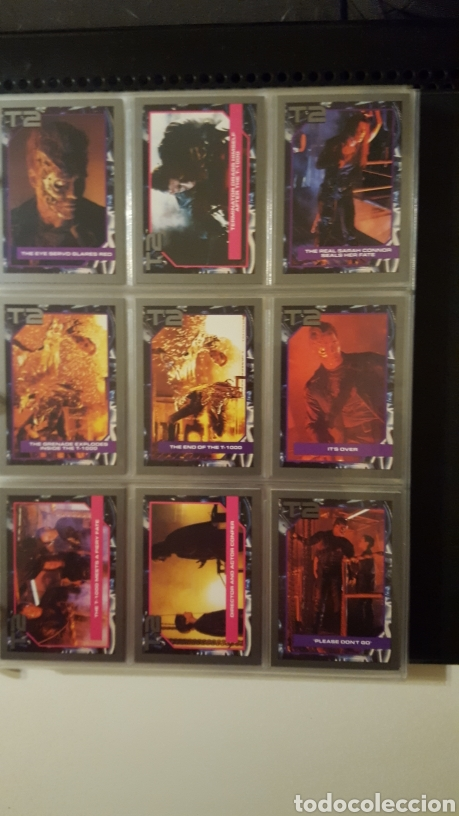 Trading Cards: Trading cards - Terminator 2 Judgement day - T2 - Col. Completa - Impel - 1991 - Foto 14 - 186154742