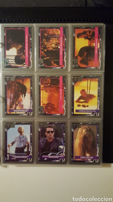 Trading Cards: Trading cards - Terminator 2 Judgement day - T2 - Col. Completa - Impel - 1991 - Foto 15 - 186154742