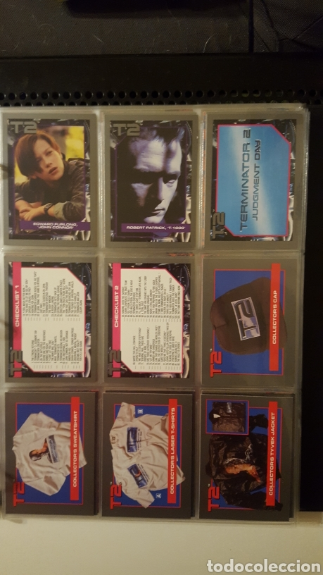 Trading Cards: Trading cards - Terminator 2 Judgement day - T2 - Col. Completa - Impel - 1991 - Foto 16 - 186154742