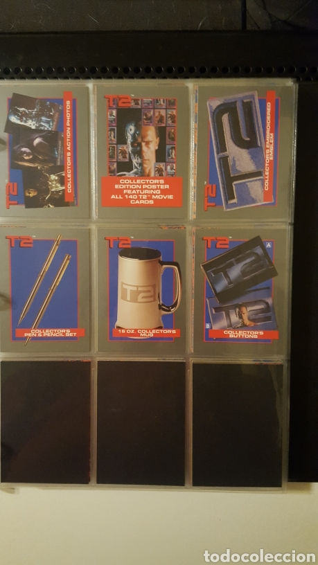 Trading Cards: Trading cards - Terminator 2 Judgement day - T2 - Col. Completa - Impel - 1991 - Foto 17 - 186154742