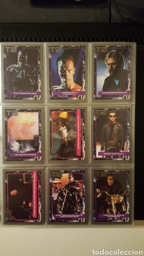 TRADING CARDS - TERMINATOR 2 JUDGEMENT DAY - T2 - COL. COMPLETA - IMPEL - 1991 (Coleccionismo - Cromos y Álbumes - Trading Cards)