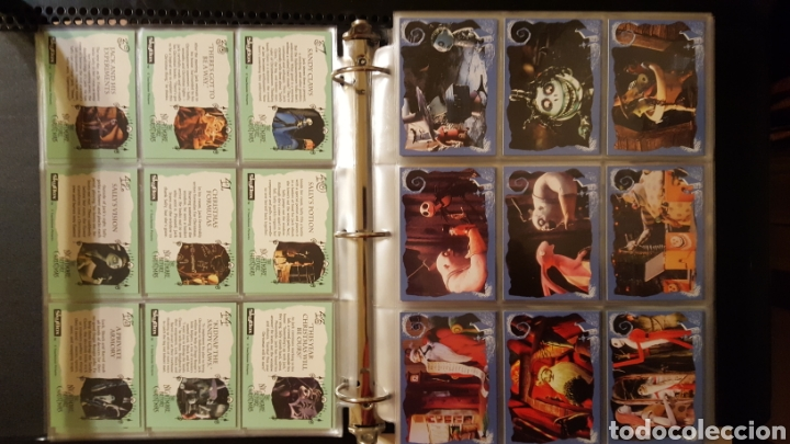 Trading Cards: Trading cards - Nightmare before Christmas col. Completa con cartas especiales - Skybox - 1993 - - Foto 6 - 186160538