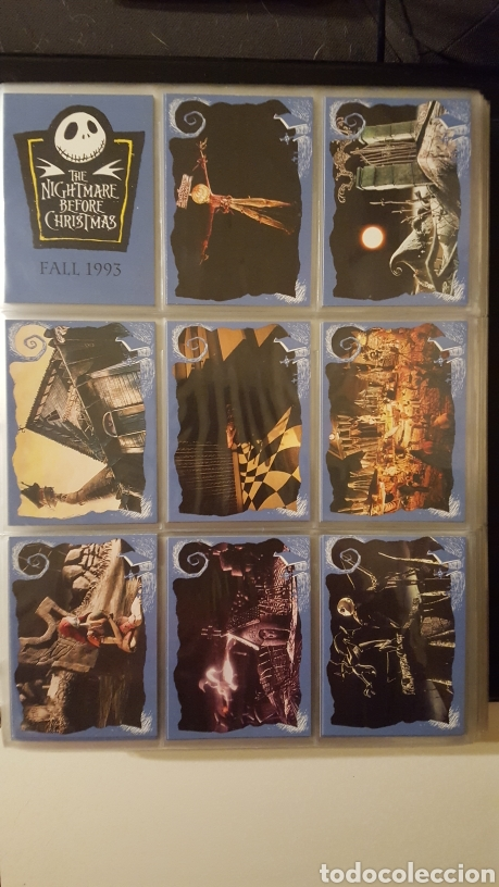Trading Cards: Trading cards - Nightmare before Christmas col. Completa con cartas especiales - Skybox - 1993 - - Foto 1 - 186160538