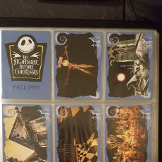 Trading Cards: TRADING CARDS - NIGHTMARE BEFORE CHRISTMAS COL. COMPLETA CON CARTAS ESPECIALES - SKYBOX - 1993 -. Lote 186160538