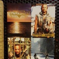 Trading Cards: TRADING CARD - WATERWORLD FLEER ULTRA - UNCUT SHEET - PROMO - 1995 - KEVIN COSTNER. Lote 186179046