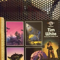 Trading Cards: TRADING CARD - TIM WHITE FANTASY ART TRADING CARDS - PROMO SHEET - FPG - 1994. Lote 186180382