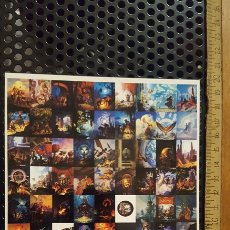 Trading Cards: TRADING CARD - TIM HILDEBRANT - FLIGHTS OF FANTASY CARDS - MINI PRESS SHEET - COMIC IMAGES. Lote 186217065