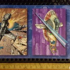 Trading Cards: TRADING CARDS - STAR WARS VEHICLES - TOPPS - 1997 - TOP COW - HOJA PROMOCIONAL. Lote 186223105