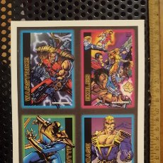Trading Cards: TRADING CARDS - ULTRAVERSE - UNCUT SHEET - PROMO - SKYBOX - 1993 - HOJA PROMOCIONAL. Lote 186223891