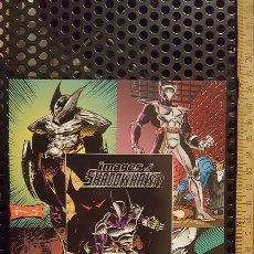 Trading Cards: TRADING CARD - IMAGES OF SHADOWHAWK - UNCUT SHEET - IMAGE COMICS - ADVANCE COMICS. Lote 186227743