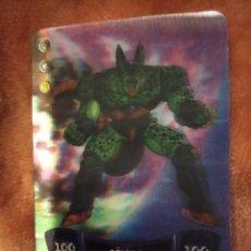 Trading Cards: 62 CELULA. DRAGON BALL Z SÚPER 3D. EDIBAS MUNDICROMO 2012. . Lote 186363850