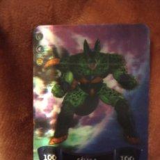Trading Cards: 62 CELULA. DRAGON BALL Z SÚPER 3D. EDIBAS MUNDICROMO 2012. M. Lote 186363941
