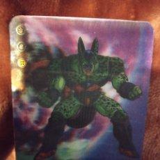 Trading Cards: 62 CELULA. DRAGON BALL Z SÚPER 3D. EDIBAS MUNDICROMO 2012. MM. Lote 186364105
