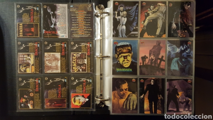 Trading Cards: Trading Cards - Universal Monsters illustrated de luxe - Topps - 1991 - Coleccion completa - Foto 2 - 187120110
