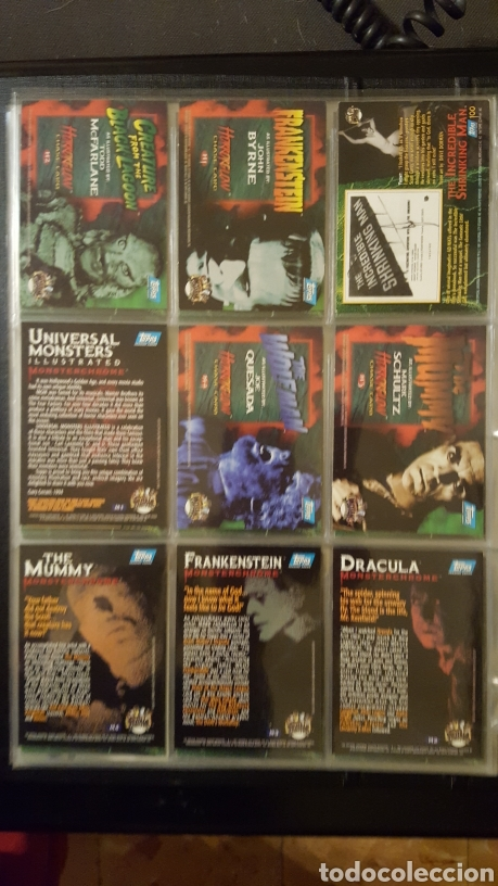 Trading Cards: Trading Cards - Universal Monsters illustrated de luxe - Topps - 1991 - Coleccion completa - Foto 17 - 187120110