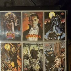 Trading Cards: TRADING CARDS - UNIVERSAL MONSTERS ILLUSTRATED DE LUXE - TOPPS - 1991 - COLECCION COMPLETA. Lote 187120110