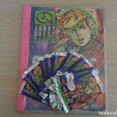 Trading Cards: JONNY QUEST UPPER DECK TRADING CARDS ALBUM DEL COLECCIONISTA (SELLADO) + 10 SOBRES SIN ABRIR. ÚNICO!. Lote 187382913