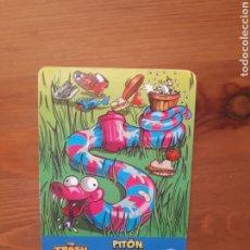 Trading Cards: TRADING CARD THE TRASH PACK ROÑÓMETRO PITÓN SOBACÓN. Lote 187507342